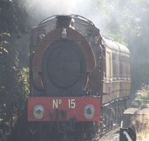 WPR No 15 at the East Lancs Railway