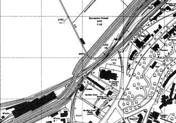 the Wemyss Private Railway Layout Map of Railway