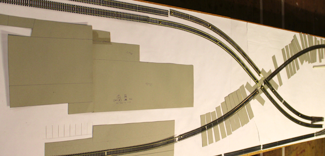 the Wemyss Private Railway Test Layout of Track