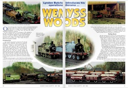 Gauge 0 Guild Gazette May 1999 Wemyss Woods a diorama built to display Wemyss Private Railway Stock and more