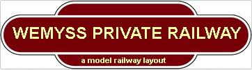 Wemyss Private Railway Totem Straw Colour Writing