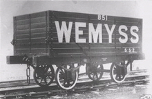 the Wemyss Private Railway Private Owner Wagon's