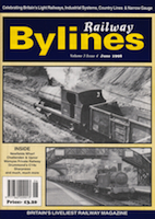 Railway Bylines June 1998 - Andrew Munro's Article on the Wemyss Private Railway and NCB lines in East Fife, Article benefits from his personal knowledge of the area